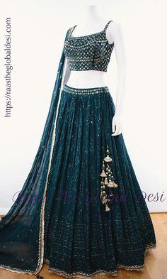 Party Wear Indian Dresses, Designer Party Wear Dresses, Indian Fashion Dresses, Indian Bridal Outfits, Indian Gowns Dresses, Party Wear Lehenga, Dress Indian Style, Indian Designer Outfits, Party Dress