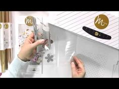 ▶ Heidi Swapp Minc.™ ...using 2 different colored foils - YouTube