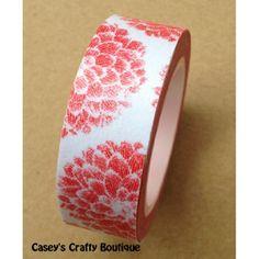 Blossom Coral WASHI Tape