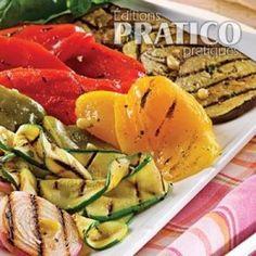 Salade de légumes grillés à l'italienne - Recettes - Cuisine et nutrition - Pratico Pratique