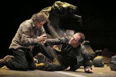 Chiacchiere dal foyer: Valerio Aprea e Valerio Mastandrea al Teatro Ambra Jovinelli in Qui e ora