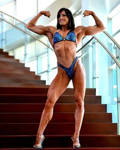 @kristine_finsas sporting her fit and fabulous physique on show day! 🔥🔥🔥 muscledazzle.com/fs285 #muscledazzle #figuresuit #posingsuit #figurecompetitor #contestprep #npceastcoast #cbbf #npcbikinicompetition #ocbfigure #blingbikini #ifbbproleague #physiquecompetition #fitnessinspiration #stagebikini #inbabikini #ifbbdf #bikinicontestprep #bikinipro #ifbbphysique #npchawaii Physique Competition, Npc Bikini Competition, Figure Competition Suits, Figure Suits, Posing Suits, Ad Hoc, Suits For Sale, Women Figure, Fitness Inspiration