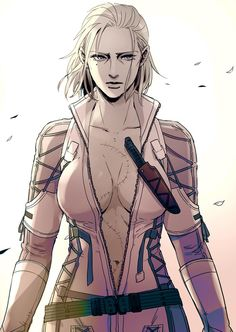 The Boss, The Joy, Snake's beginning. The mother of all special forces. She deserves her own game! So much can be said about her, her story can be told.
