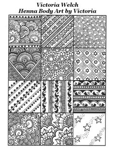 Henna fills, from traditional to modern - victoria welch