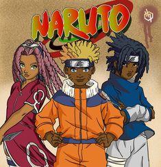 (Black) Naruto characters by I-IeXXus7 on DeviantArt