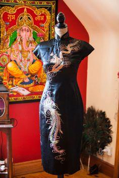Drache und Phoenix wackeln Kleid von NiAnluainArtwork auf Etsy