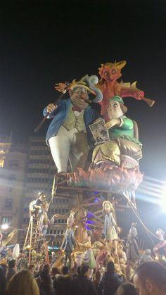 Fallas de Valencia (España)  | #socioantropologia de la fiesta