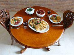 Dollhouse Miniature Artisan Food Peas 1:12 Scale by MissMiniMaker $6.99