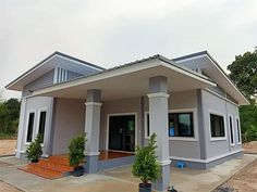 Sims House Design, Dream House Plans, Home Design Plans, Cottage Homes, Diy Projects, Outdoor Decor, Design Ideas, Hero, Home Decor