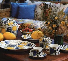 Tea Time, Archive, Table Settings, Uppsala, Ceramics, Dishes, Deco, Room, Painting