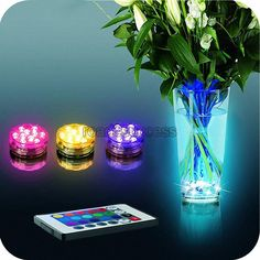 Online Cheap 2016 Light Party Lamp Underwater W With Remote Control Led Water Proof Electronic Candle Lamp Colorful Color Changing Diving Lamp Vase Lamp By Road2success | Dhgate.Com