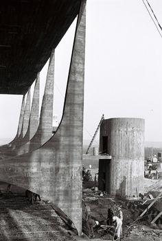 Colunas e parlatório - 1959