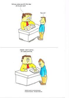 Cartoon #5 #cartoon #business #communication