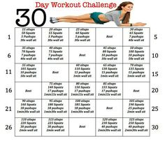 Hello Workout Regimen For The Month Of June