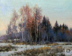 Alexej Savchenko.  první sníh