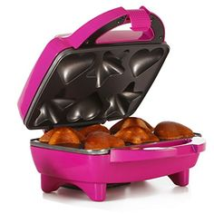 Holstein Housewares HF09034M Star  Heart Cupcake Maker  Magenta -- More info could be found at the image url.