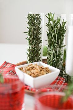 Rosemary Candle DIY