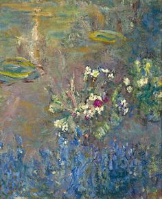 "Claude #Monet "" Nymphéas"" 1918"