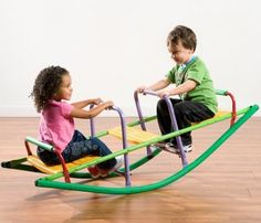 Outdoor Toddler Kids Playground See Saw Teeter Totter Rocker Jungle Gym Play Toy