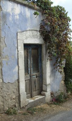 Derelect house in the Trodos mountains, Cyprus