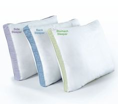 Medium density is for stomach sleepers, firm density is for back sleepers, and extra firm density is for side sleepers.