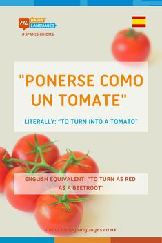 A lovely Spanish Idiom to learn: can you make an example? Spanish Idioms, Spanish Vocabulary, Spanish Humor, Idiomatic Expressions, Learn Spanish, Beetroot, Language, Content, Learning