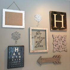 Client Gallery Wall