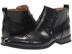 Black Laceless Ankle