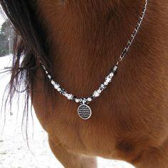 Rhythm Beaded Trinkett Necklace for Your Horse