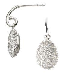 Queen Letizia Links of London Hope Egg earrings