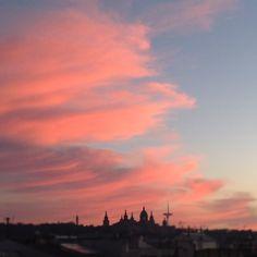 #barcelona sunset