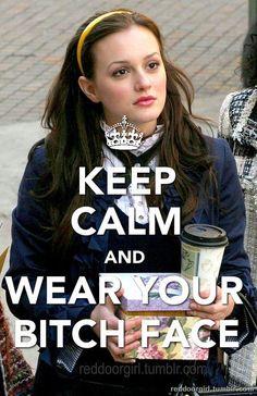 Blair Waldorf <3 slash, my motto in paris