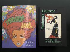 Ya de vuelta a la isla, seguimos extasiados por las dos impresionantes exposiciones que vimos ayer en Madrid. Lautrec y Jano en un solo día. Canela en rama. Absolutamente recomendables. Y cómo no, nos trajimos los correspondientes catálogos para el Centro de Documentación Publicitaria.