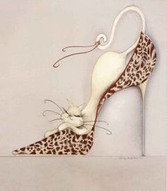 The Purrrfect Fit II Reproduction artistique