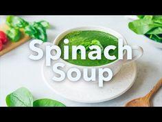 Medical Medium Spinach Soup - YouTube Vegan Spinach Soup, Cream Of Spinach Soup, Italian Orzo Spinach Soup, Spinach Tortellini Soup, Italian Sausage Soup, Cream Of Celery Soup, Medical Medium Anthony William, Low Cal, Dining