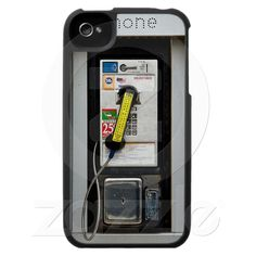 Funny Phone Booth iPhone 4 Case from Zazzle.com