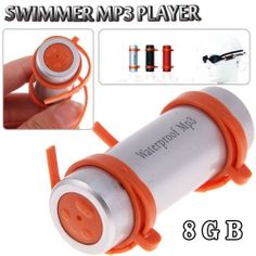 OMG I WANT ONE. swimmer mp3 player? coolest. thing. ever.
