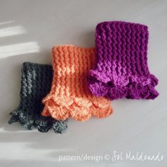 Crochet Pattern Boot Toppers PDF - Winter Accessory crochet - Lucy Leg Warmers, boot socks, boot topper, boot cuff - PHOTO tutorial. $5.00, via Etsy.