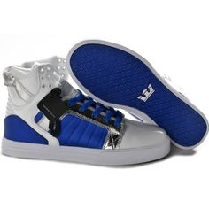Supra Skytop Blue Tiger for Discount High Tops for Men
