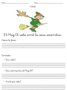 Fitxes de comprensió lectora Catalan Language, Valencia, Album, Teaching, Writing, Reading Comprehension, Spanish, Barrel