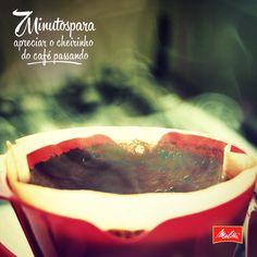 Sentir o aroma do café Melitta no ar deixa o dia mais inspirador. Quem também acha? <3