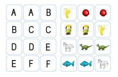 groß- und kleinbuchstaben | buchstabenerkennung, kleine buchstaben, krabbelwiese