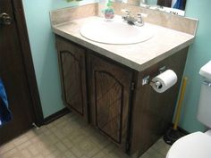Etonnant How To Reface Bathroom Cabinets And Replace Doors