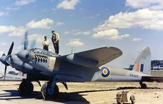 De Haviland Mosquito B mk. 25 by Etiennedup, via Flickr