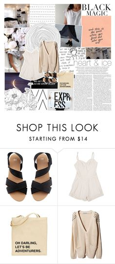 """""""hallelujah"""" by burning-citylights ❤ liked on Polyvore featuring Christies, MANGO, H&M, Lover, women's clothing, women's fashion, women, female, woman and misses"""