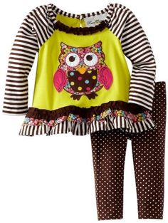 Rare Editions Baby Girls Infant Leg Set, Yellow/Lime/Brown, 12 Months, http://www.amazon.com/dp/B00CJ507ZW/ref=cm_sw_r_pi_awd_yMQ.rb19K1VZC