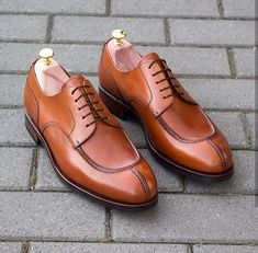 New Elegant Handmade Tan Color Lace Up Shoes, Men's Split Toe Dress Formal Shoes sold by The Leather Souq. Shop more products from The Leather Souq on Storenvy, the home of independent small businesses all over the world. Lace Up Shoes, Slip On Shoes, Dress Shoes, Women's Shoes, Shoes Sneakers, Suede Leather Shoes, Leather Men, Soft Leather, Formal Shoes