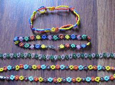 14 Crafts You Made Before They Were Cool: Before pretty braided seed bead necklaces were a wardrobe must-have……you were obsessed with making daisy chain chokers. the 70's!