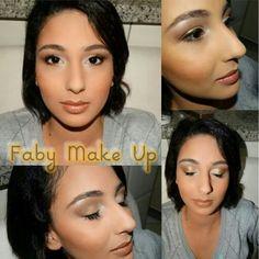 A linda e doce Any. Ficou linda. Essa foi a terceira make de hoje. Dama decAniversário de 15 anos! #makeup #maquiagem #avon #marykay #fabymakestyle #make