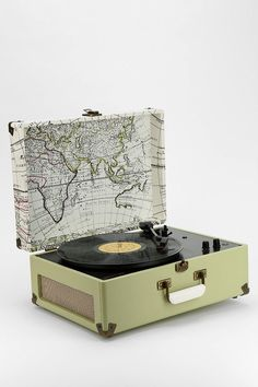 Who wants to help me out?? My birthday is coming up. ;) // UO X Crosley AV Room Portable USB Vinyl Record Player